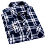 3 Mens Checkered Slim Fit Shirts