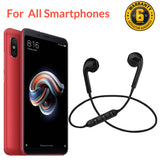 Bluetooth Headphones In-Ear Wireless Earphones With Mic For Smart Phones