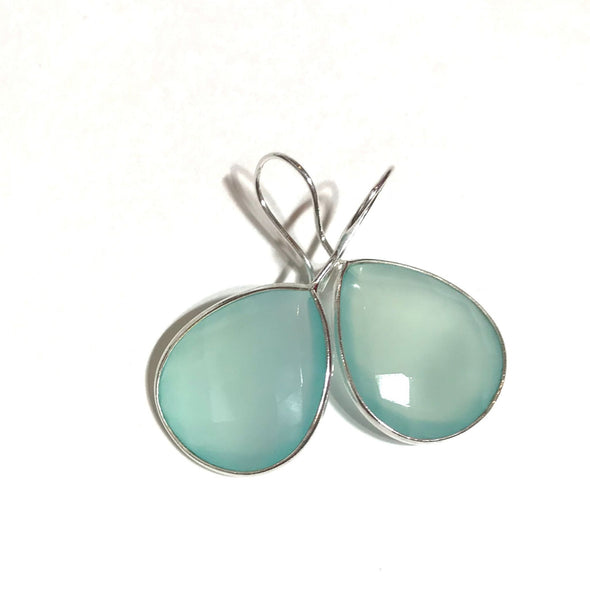Sea Green Dangle Earrings