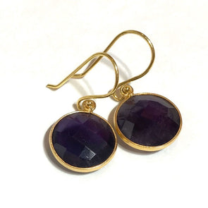 Amethyst Pop Earrings