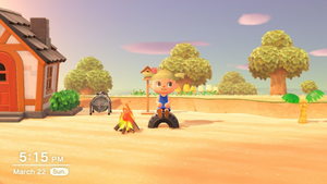 Animal crossing new horizons day 2