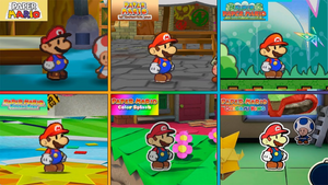 History of Paper Mario