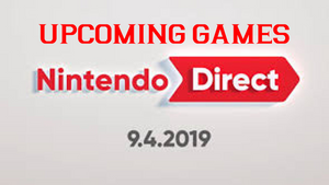 New Games Announced at September's Nintendo Direct