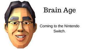 Brain Age Nintendo Switch