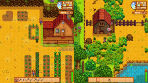 Stardew Valley Split Screen