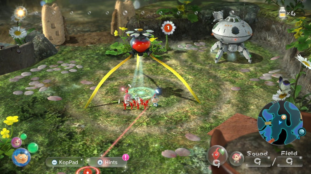 Pikmin 3 ship and onion