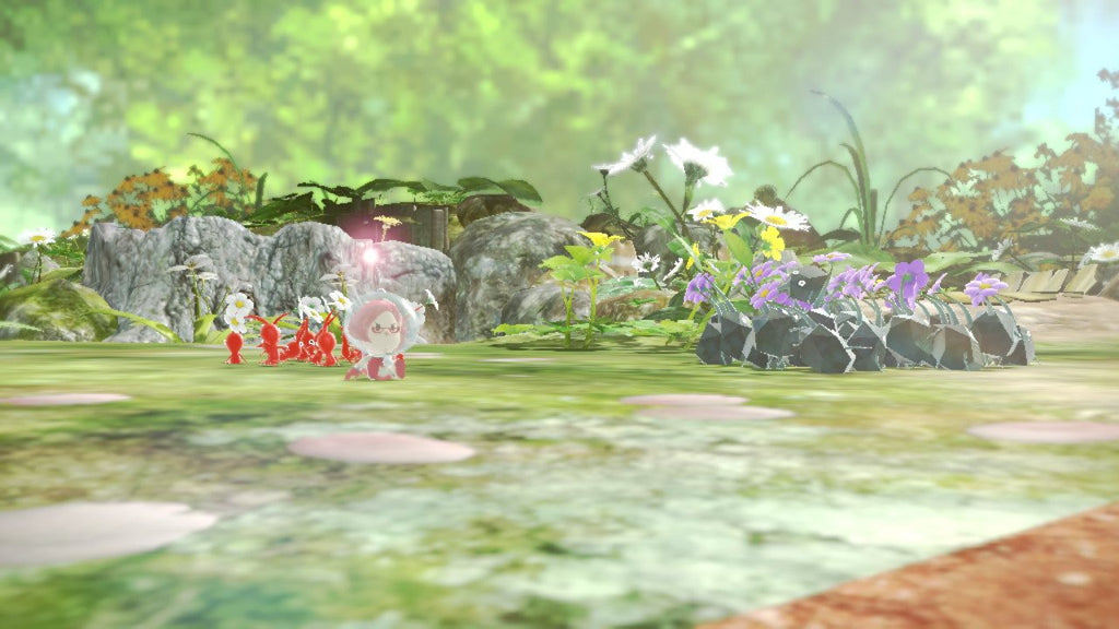 pikmin divided into groups
