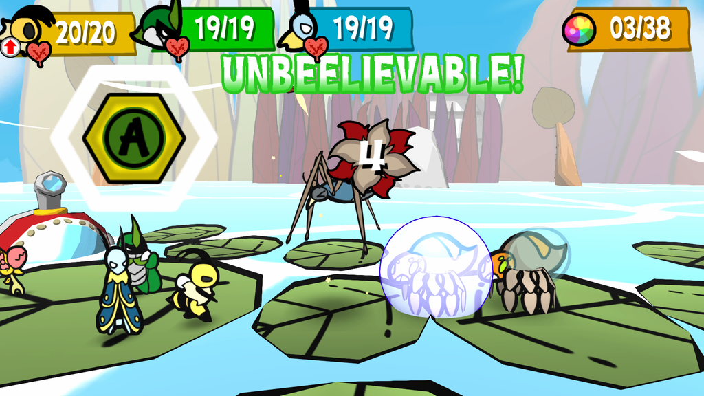 bug fables combat system