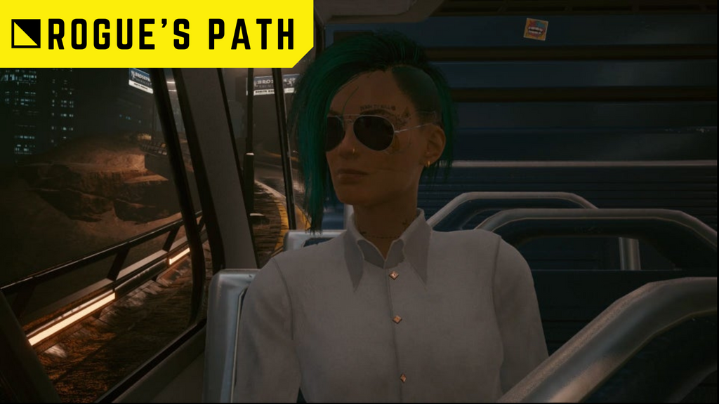 Rogues path cyberpunk ending guide johnny