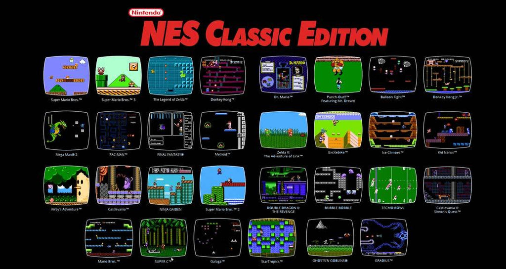 NES Classic games list review