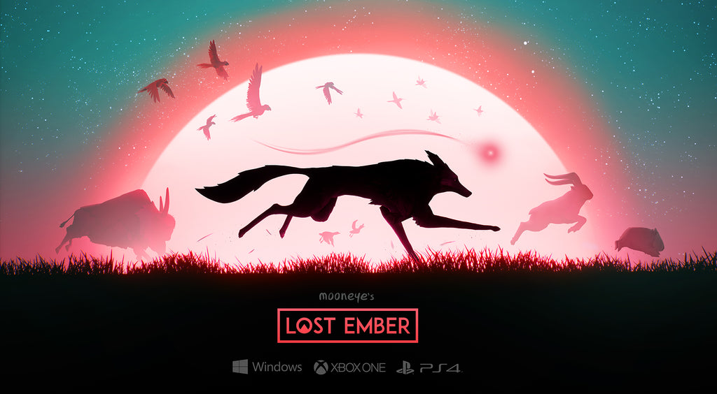 Lost ember gameplay trailer poster