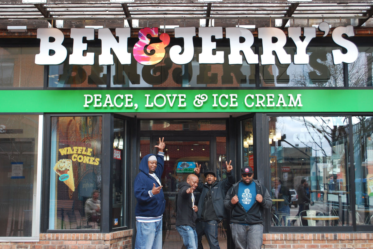 Ben & Jerry's And Greyston Trade Places