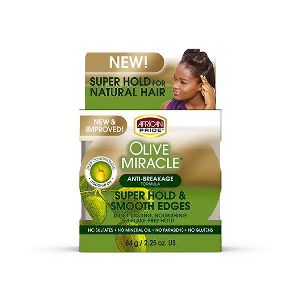 African Pride | Olive Miracle | Control de bordes