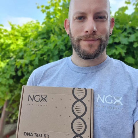 Man with NGX DNA test.