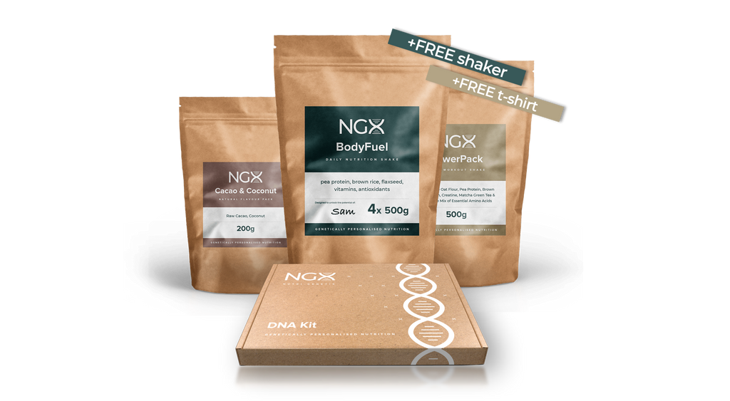 NGX Starter Pack with DNA test, BodyFuel, PowerPack and Flavour