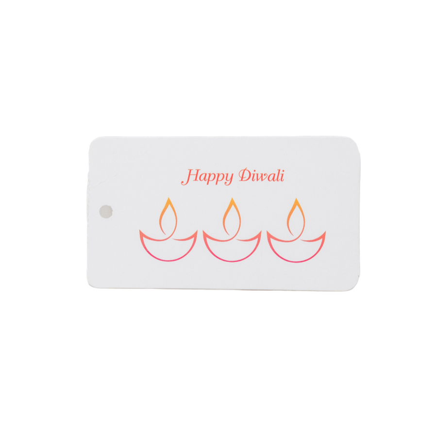 Cute Happy Diwali Gift Tags