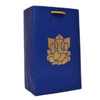 Small-Sized Paper Bags Embossed with Golden Ganesha Symbol