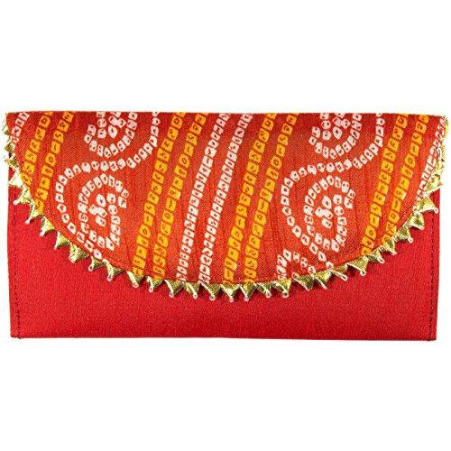 Shagun Brocade Money Envelopes Red