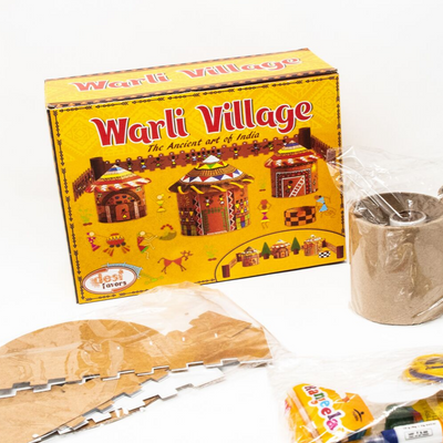 DIY Warli Village Craft Kit for Kids