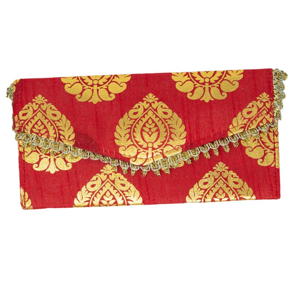 Red and Orange Envelopes - Set of 4 Red