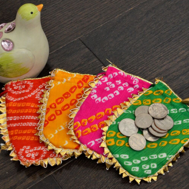Handcrafted Small Potli Bags