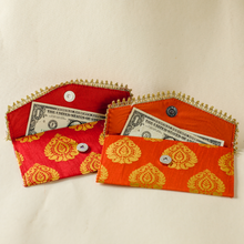 Load image into Gallery viewer, Red and Orange Envelopes - Set of 4