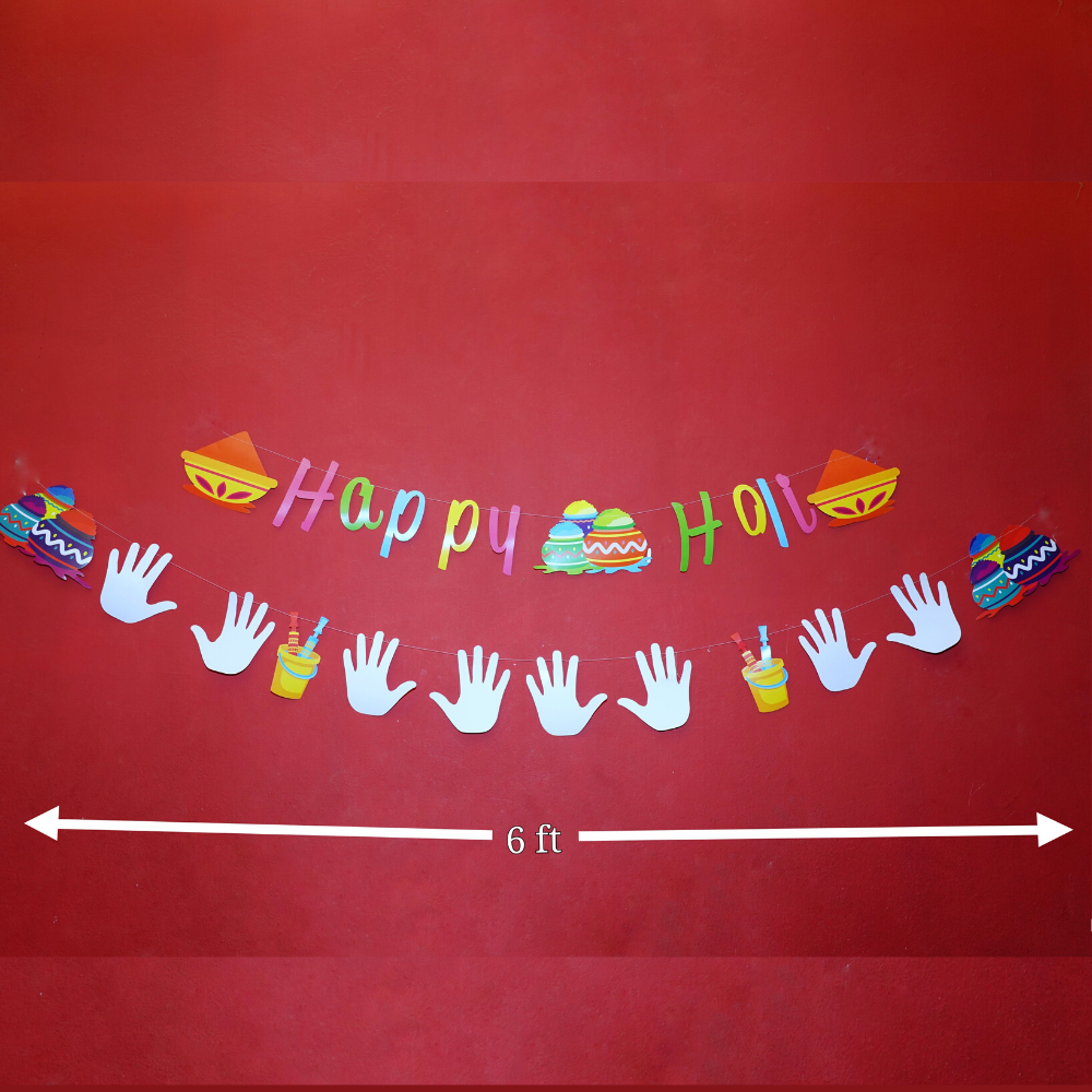 Happy Holi Banner