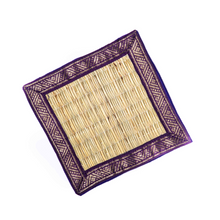 Load image into Gallery viewer, Handwoven Coasters with Zari border