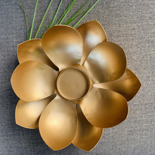 Load image into Gallery viewer, Elegant Lotus Diya for Diwali