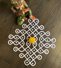 Load image into Gallery viewer, muggu cutcouts kolam rangoli decorations