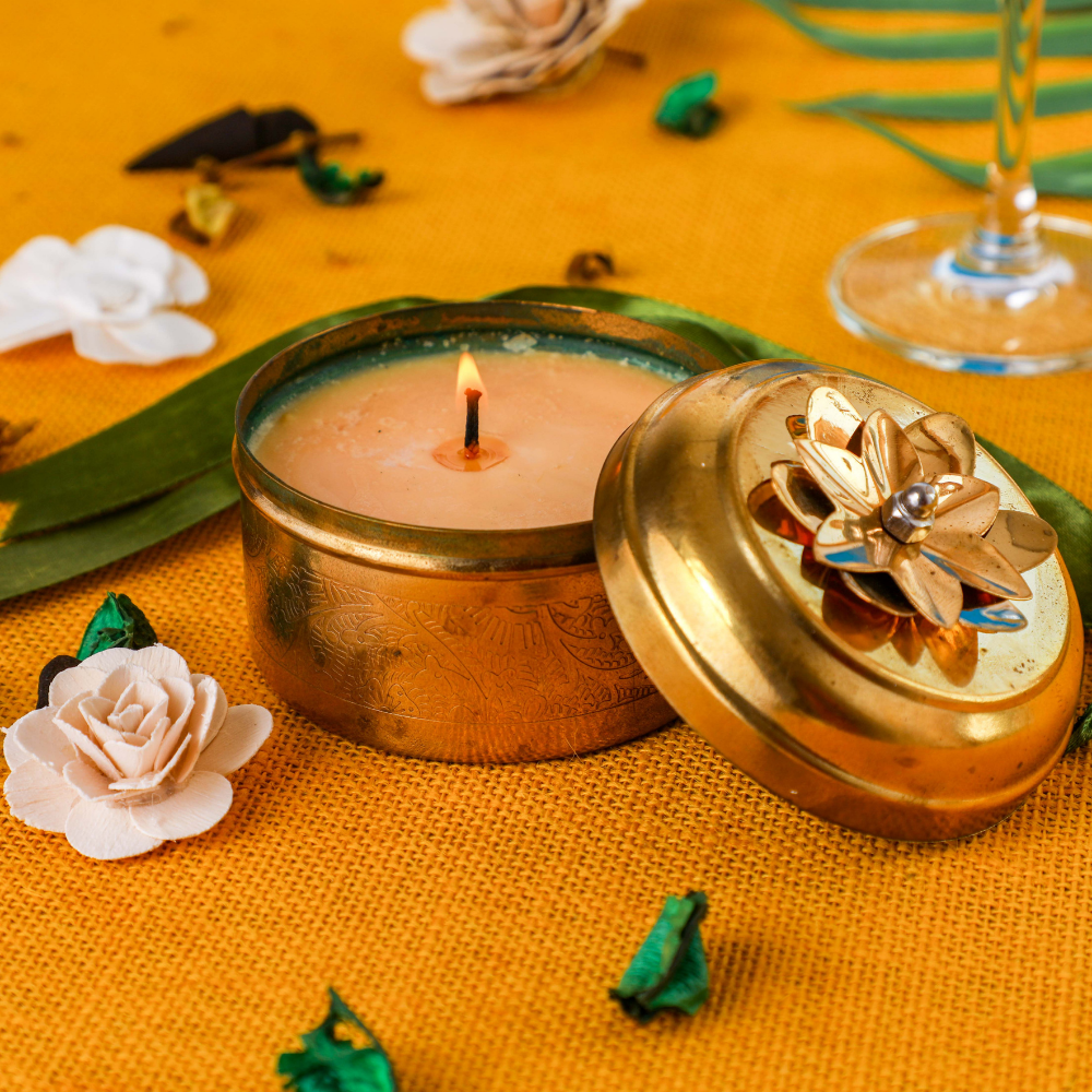 Indian Jasmine Scented Candle