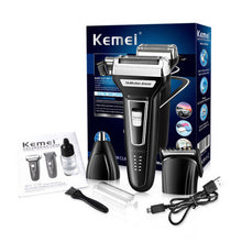 Load image into Gallery viewer, 3-in-1 Multifunction Electric Shaver-shavercentre.com.au