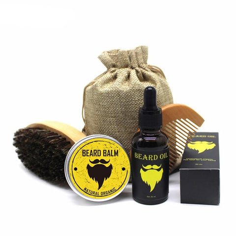 5 Piece Beard Grooming Kit-shavercentre.com.au