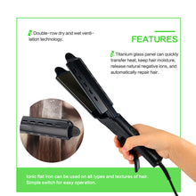 Load image into Gallery viewer, Professional Steam Tourmaline Ceramic Hair Straightener-shavercentre.com.au