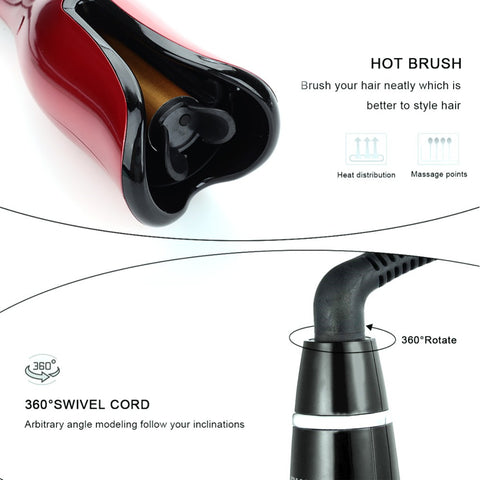 Automatic Rotating Curling Iron-shavercentre.com.au