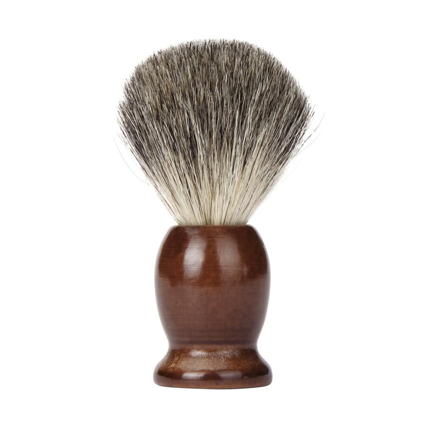100% Pure Badger Hair Shaving Brush-shavercentre.com.au
