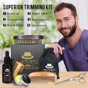 6 Piece Beard Kit