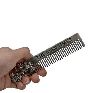 Metal Beard Comb