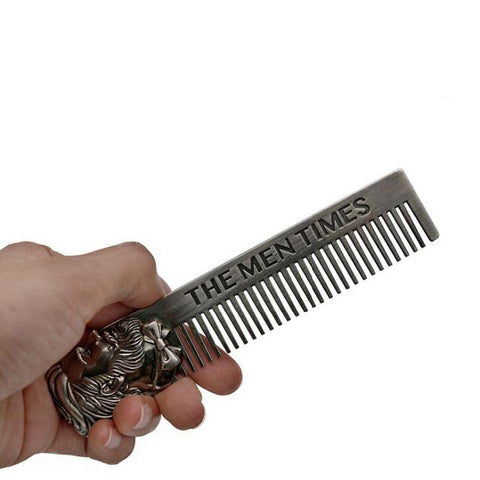 Image of Metal Beard Comb-shavercentre.com.au