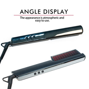 Men's Ionic Hair Straightening Brush-shavercentre.com.au