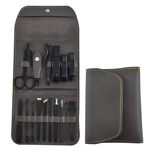 16 Piece Nail Grooming Travel Kit