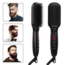 Load image into Gallery viewer, Electric Ionic Hair Straightener Brush-shavercentre.com.au