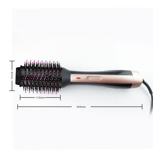 Ceramic Hair Straightener Brush-shavercentre.com.au