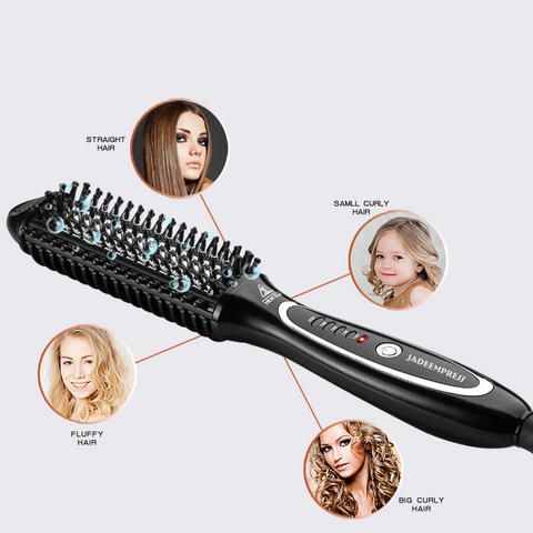 Image of One Step Hair Straightener Brush-shavercentre.com.au