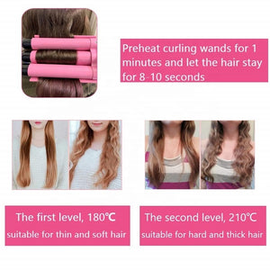 Ceramic Triple Barrel Hair Curler-shavercentre.com.au