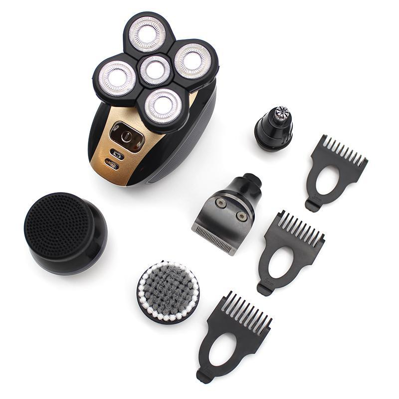 5 Rotary Blades Electric Shaver 5-in-1 Set-shavercentre.com.au