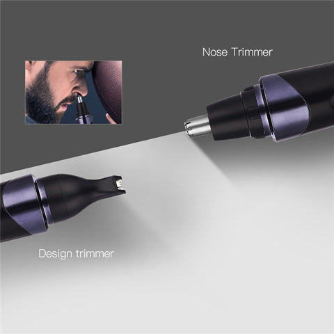 Image of Waterproof Nose Hair Trimmer Set-shavercentre.com.au