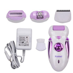 4 in 1 Electric Epilator Depilatory Hair Remover-shavercentre.com.au