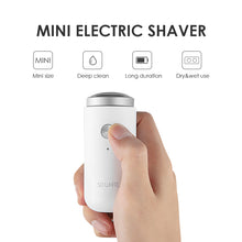 Load image into Gallery viewer, Mini Portable Double Ring Electric Shaver-shavercentre.com.au