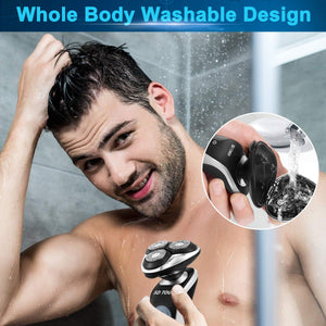 Four in One 3D Floating Body Grooming Set-shavercentre.com.au
